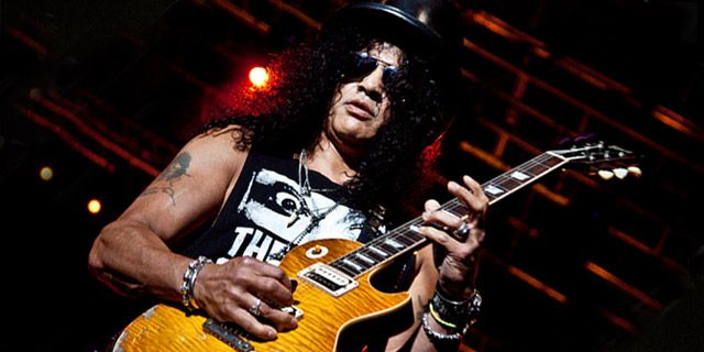 Aula de guitarra de Anastasia, do Slash