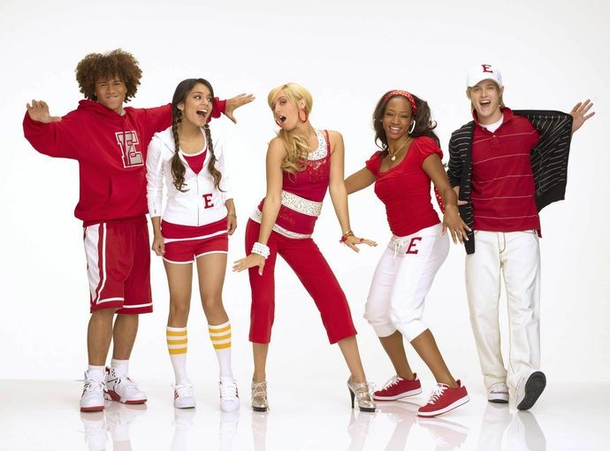 videos y la letra de high school musical: